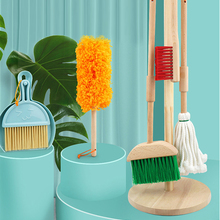 XIHATOY Cleaning Toy Set Simulation Children's Mini Broom Dustpan Mop Cleaning Tool Combination Doing Housework Toy For Kids