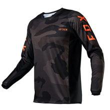 De la motocicleta de la bicicleta de montaña equipo jersey para descensos MTB Offroad DH MX bicicleta locomotora camisa Cruz paí