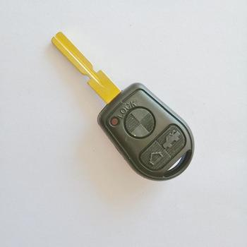 Uncut Blade Remote Key Case Shell Fob 3 Button For BMW 3 5 7 Series Z3 E46 E39 E38 740iL 740i 323i 528i 540i 318i 535i image