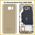 Задняя крышка корпуса для Samsung Galaxy Note 5 N920 N920F  крышка аккумулятора  средняя рамка  пластина  корпус  рамка  боковые кнопки