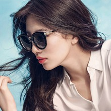라운드 빈티지 선글라스 여성 클래식 브랜드 디자인 거울 태양 안경 패션 여성 그늘 레트로 Gafas Oculos 드 Sol UV400