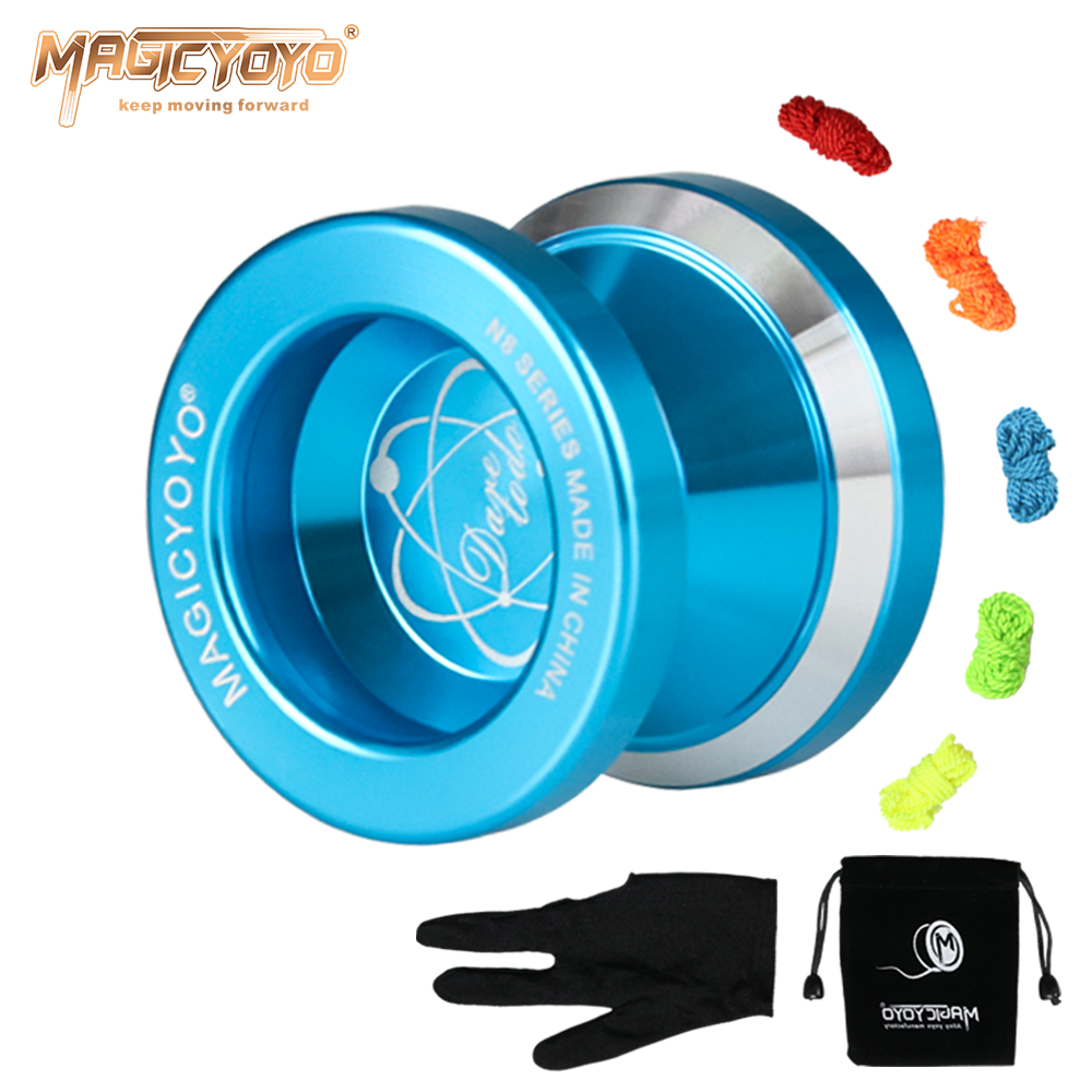 Quality High Speed Metal N8 Magic YoYo 3 Colours! - Toys Free Delivery