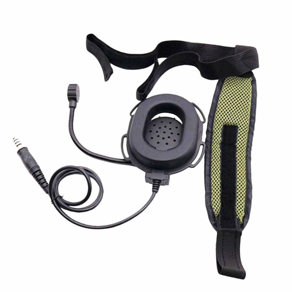 Bowman Elite II Hd03 tactics Headset+U94 PTT for TRI TCA/AN PRC-148 PRC-152  Walkie Talkie 6-pin  prc152 prc148  Two Way Radio