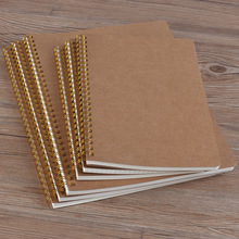Notebook A5 Schedule Stationery Dot Coil Love Binding Notebook Plan Hardcover Diary Eye Protection School Office Manuscript