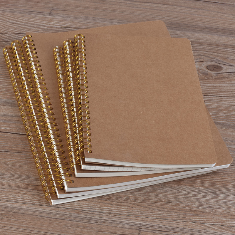 Notebook A5 Schedule Stationery Dot Coil Love Binding Notebook Plan Hardcover Diary Eye Protection School Office Manuscript image