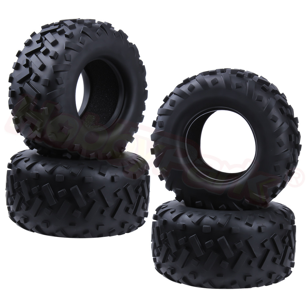 4pcs 175x85mm All Terrain RC Tires With Foam Inserts for 1/8 Scale Monster Truck HPI TRAXXAS HPI Himoto Redcat HSP Exceed Baja image