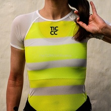 Underwear Jersey Bicycle-Shirt Base-Layers Women Bike Superlight MTB Mesh Breathable