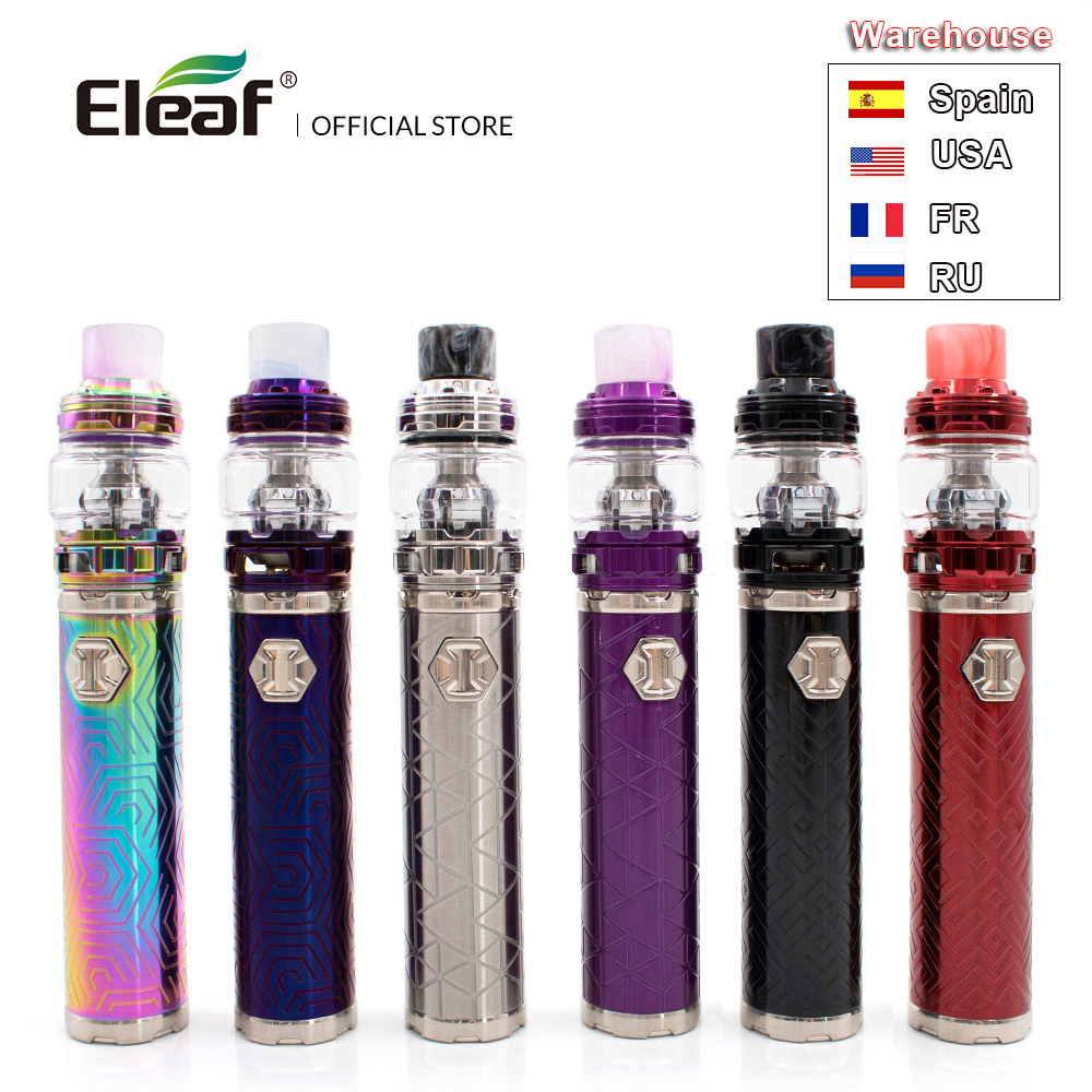[RU/FR/ES] Original Eleaf IJust 3 With ELLO Duro Built-in 3000mAh 6.5ml/2.0ml Tank I Just 3 In HW-M/HW-N Vape Kit E-Cig