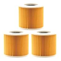 Éléments filtrants 3 pièces pour Karcher WD2 WD3 Premium aspirateur de remplacement|Outil Pièces| |  -