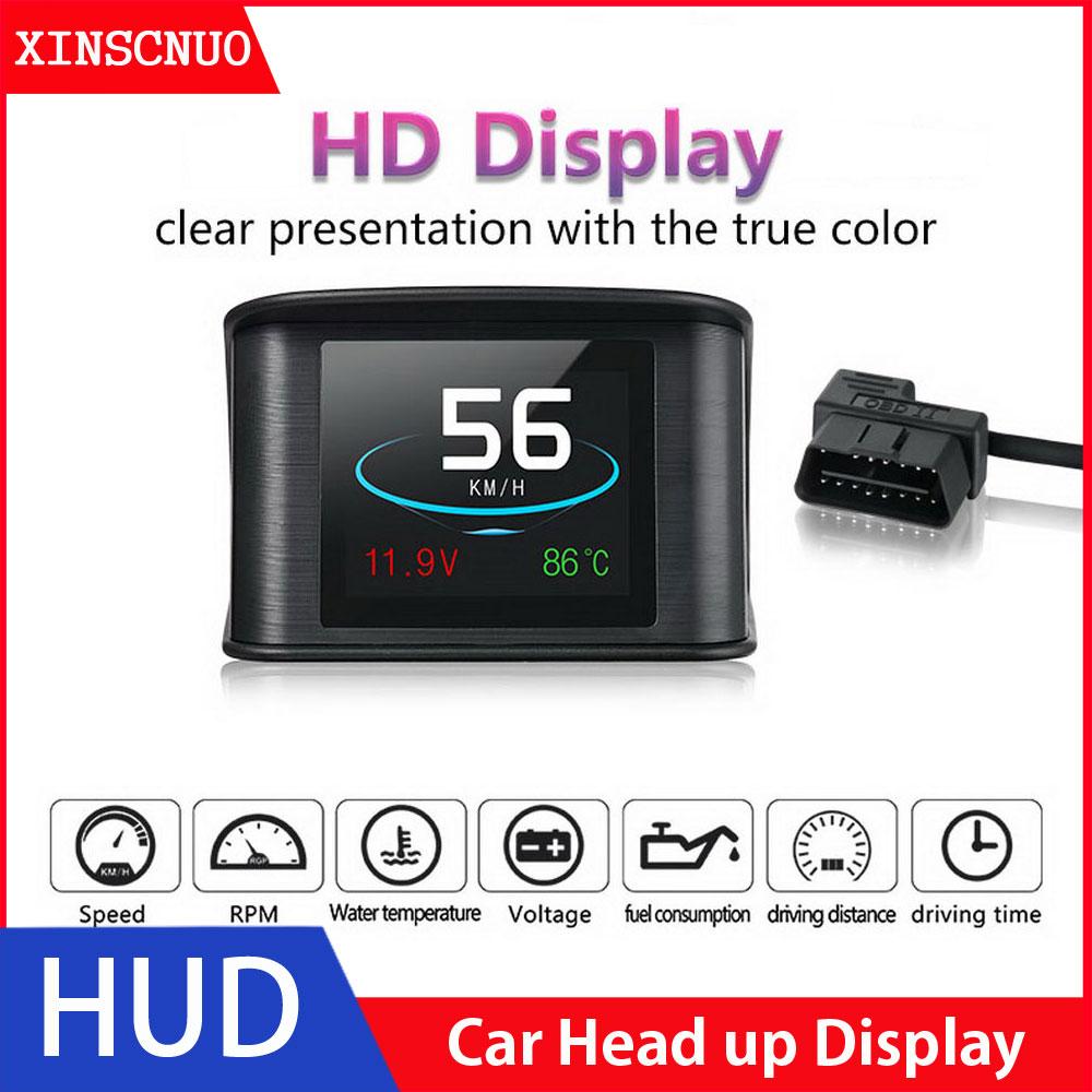 Купить автомобильный hud дисплей универсальный obd2 скоростной проектор