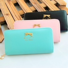 Fashion Women Long Wallet PU Leather Long Woman Pink Wallet Card Holder Coin Female Purse Women Zipper ladies Clutch Wallets Tassel Money Pocket Purse thinkthendo women fashion pu leather clutch wallet card holder bag ladies long purse handbag