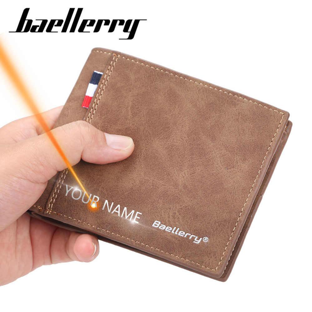 Nova moda de couro do plutônio titular da moeda dos homens carteiras de couro de alta qualidade