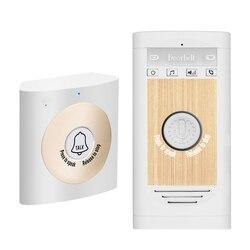 Wireless Voice Intercom Doorbell 2-way Talk Monitor Unit Smart Home Security Door Bell
