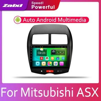 ZaiXi Android 2 Din Coche Radio Reproductor De Vídeo Multimedia Auto Estéreo GPS Mapa Para Mitsubishi ASX 2010 ~ 2019 Medios Navi Navegación
