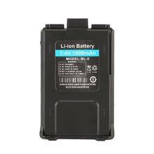 1800mAh Li-ion Battery For Baofeng UV-5R UV-5RE Walkie Talkie Two Way Radio цена