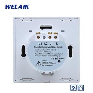 Image 5 - WELAIK interrupteur mural tactile 433MHZ UK RF