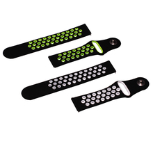 BOORUI 20mm 22mm Double Color Silicon Replacement Watchband For Xiaomi Huami Amazfit Bip youth watch for amazfit watch 1/2/2s