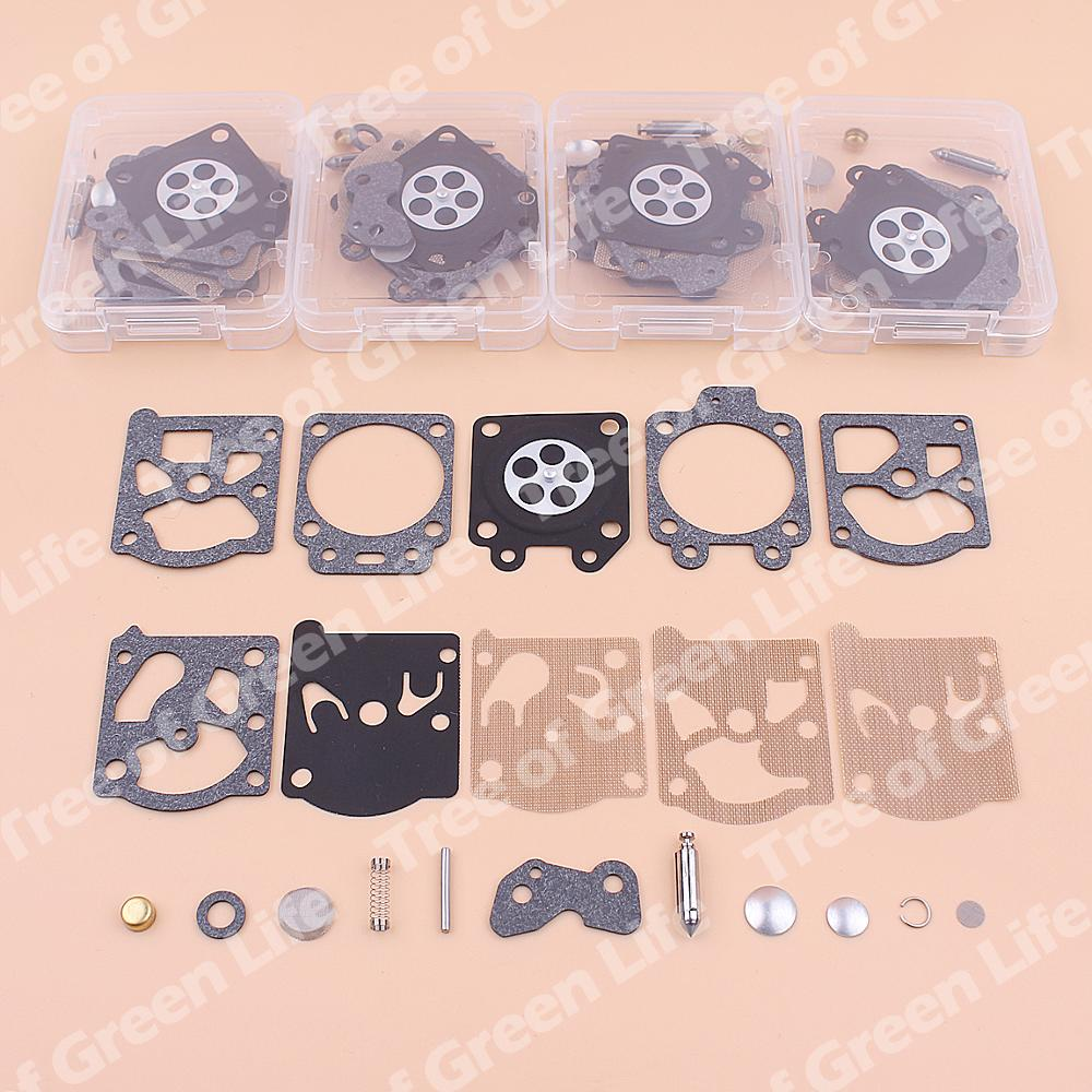 5pcs/lot Carburetor Repair Diaphragm Kit For Stihl FS36 FS40 FS44 FS72 FS74 FS75 FS76 FS80 FS81 FS85 FS86 Trimmer