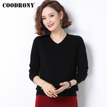 COODRONY Brand 2020 Casual New Autumn Winter Merino Wool Womens Clothing Soft Cashmere Knitted Pullover Sweater Female W1010