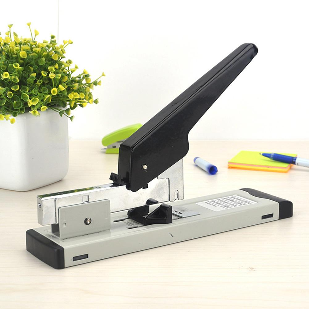 Heavy Duty Portable 100 Sheets Capacity Desk Stapler Book Sewer Stapling Machine