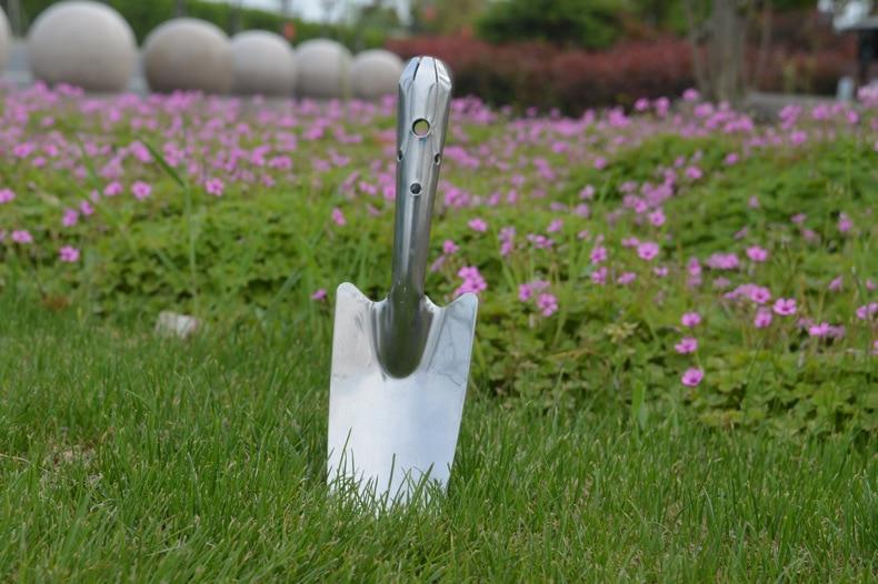 Stainless Steel Horticulture Small Shovel Garden Balcony Gardening Tool Vegetables Tool Shovel