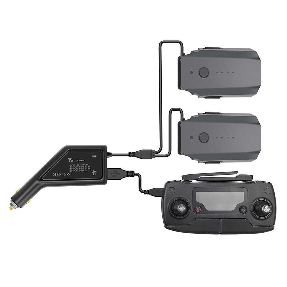 Voor Dji Mavic Pro Batterij Outdoor Autolader En Controller Opladen Hub Auto Connector Usb Adapter Voor Mavic Dji Drone Lader Drone Batterij Opladers Aliexpress