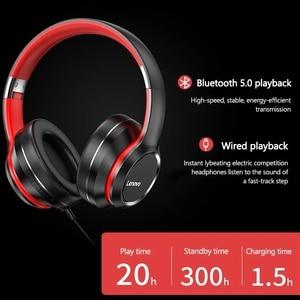 Image 2 - レノボHD200 bluetoothワイヤレスステレオヘッドフォンをキャンセルするノイズとロング待機寿命BT5.0 xiaomi iphoneレノボヘッドセット