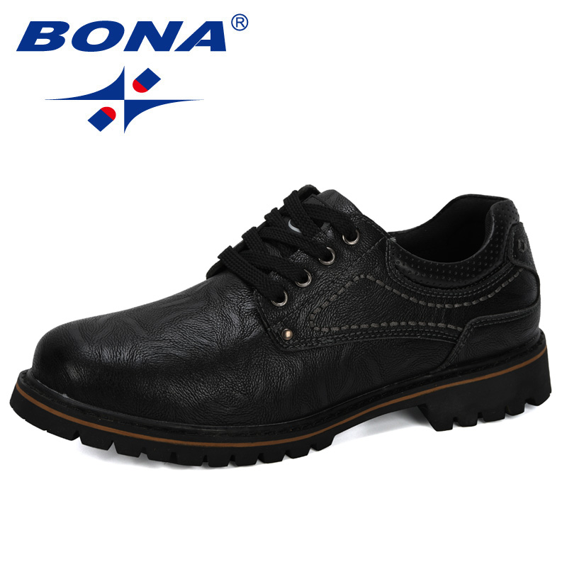 Image 3 - BONA 2019 New Designer Luxury Fashion Wedding Business Shoes Men Oxford Dress Shoes Men Formal Shoes Man Working Shoes Male-in Oxfords from Shoes