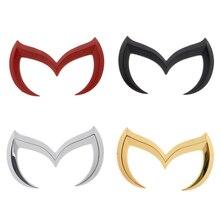 4 цветов универсальный наклейки для Mazda 3D наклейки автомобиль и отличительные знаки для Mazda наклейки авто эмблема логотип винил стикера автомобиля