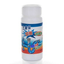 11G Drain Cleaners Strong Pipe Dredging Agent Kitchen Toilet Sewer Dredging Agent Deodorizing Block Toilet Drain Cleaner 8in1 nm cage cleaner cleansing and deodorizing agent for small animal cells spray 710 ml 5057846