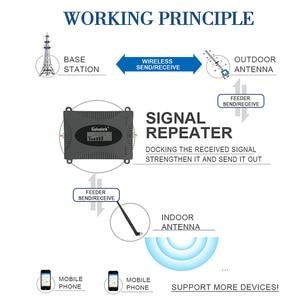 Image 5 - Lintratek LCD Display Signal Repeater 3G 2100MHz Booster Handy Verstärker UMTS 2100MHz Band 1 Celluar Zelle telefon Booster