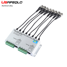 8CH pasif Video Balun Twisted UTP Video Balun Video alıcı verici