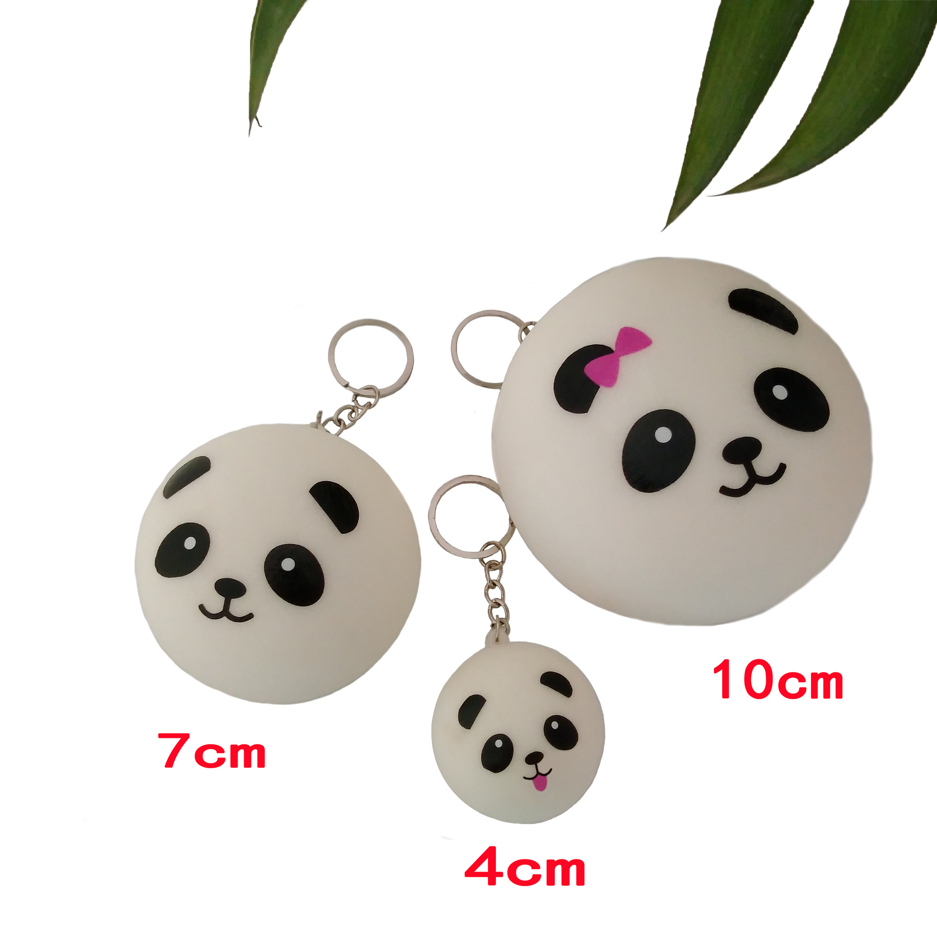 1pcs Panda Squishy Stress Relief Squeeze Toy For Children Adult Decompression Ball Fun Antistress Birthday Xmas Funny Cat Banana
