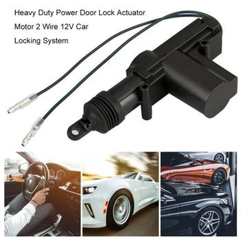 Power Door Lock Actuator Motor 2 Wire 12V Car Locking System  Alarm Voertuig Entry SysteemActuator Single Gun Type Kit
