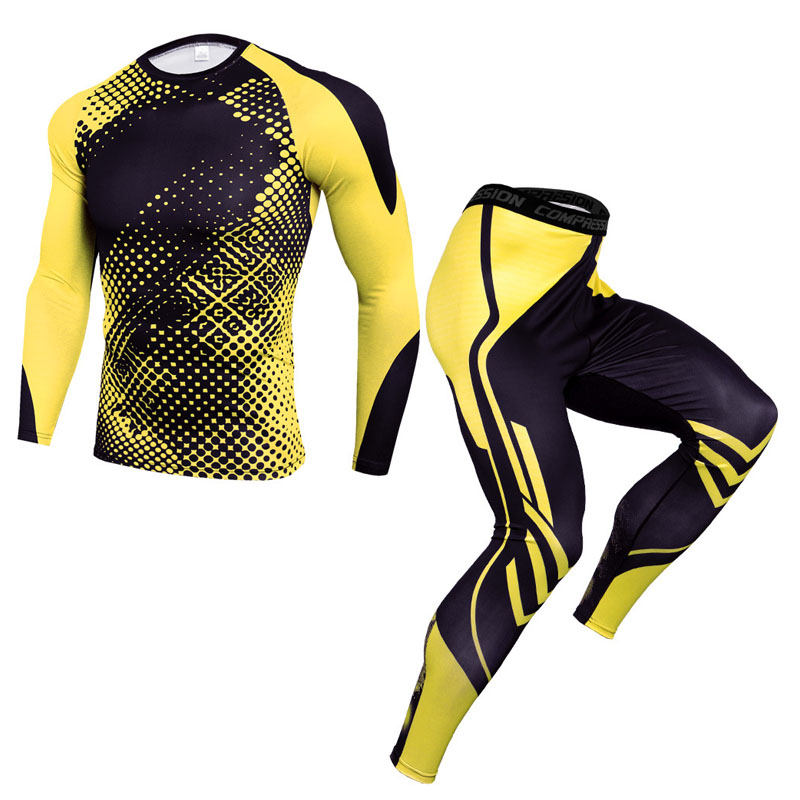 Компрессионная спортивная одежда, термобелье для мужчин, фитнес, спортивный костюм, зимние кальсоны, термобелье 2020, новинка, мужская одежда|Кальсоны|   | АлиЭкспресс