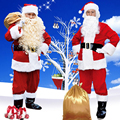 Christmas Santa Claus Costume Cosplay Santa Claus Clothes Fancy Dress Christmas Men Costume Suit For Adults