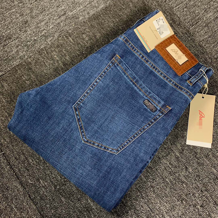 BILLIONAIRE Jeans Men 2020 New Summer Thin Cotton Elasticity Fashion Zipper British Business Breathable Size 29-42 Free Shippng