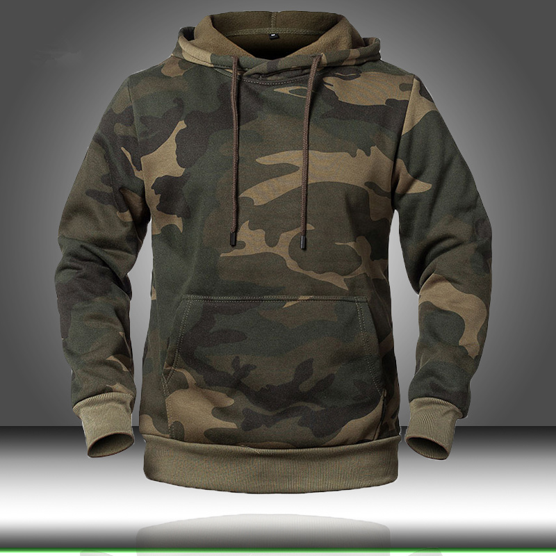 Camouflage Hoodies Men 2020 New Fashion Sweatshirt Male Camo Hoody Hip Autumn Winter Military Hoodie Mens Clothing