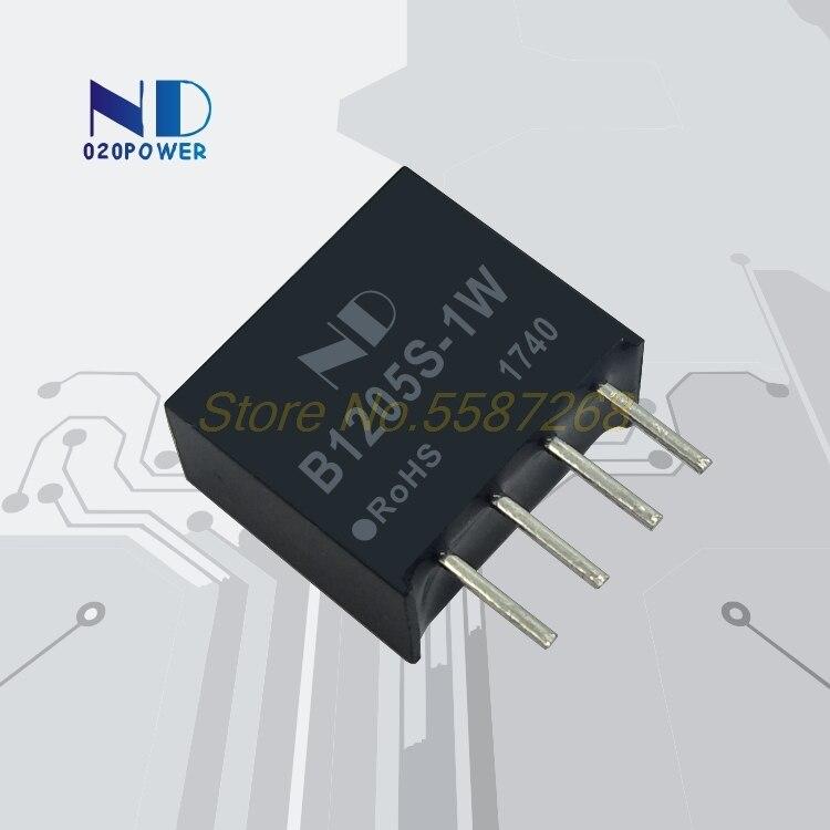 1 шт. B1205S-1W B1205S DIP-4 DCDC модуль питания 12 В до 5 В одноchip микрокомпьютер op amp понижающий чип B1205S-1W