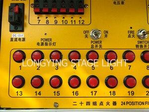 Image 5 - Il trasporto Libero 24 Gruppi Guantoni Da Boxe A Mano Attrezzature di Effetto di Fase di Controllo + Digital Per Il Fuoco Della Macchina Senza Fili