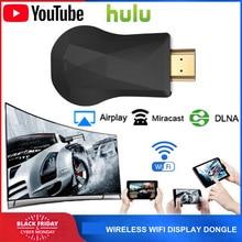 Dongle Display Wireless WiFi per Google 2 3 Chrome Crome Cast Cromecast 2 per YouTube AirPlay Miracast TV Stick