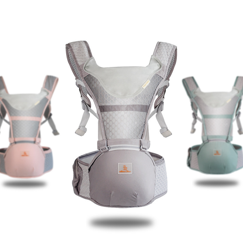 Happywalk Ergonomic Baby Carrier Breathable Infant Waist Stool Multifunction Newborn Hipseat Carrie Mommy Backpack Baby Sling