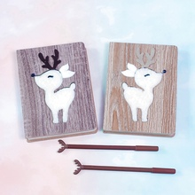 Deer Shape Notebook Planner Organizer Paper Planner Diary Bullet Journal Handbook Book Stationery Set Lovely Birthday Gifts kaylee berry lifestyle blog planner journal lifestyle blogging content planner never run out of things to blog about again