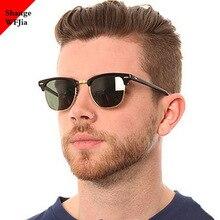 Classic Semi-Rimless Sunglasses Men 2020