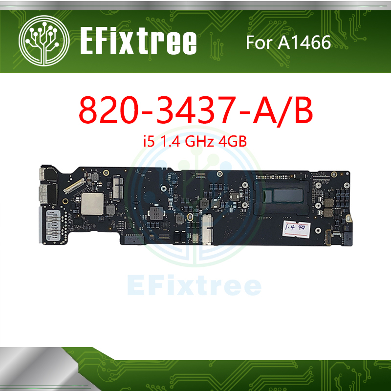 Probado 820-3437-A 820-3437-B probado A1466 placa base para MacBook Air 13 A1466 placa lógica, 1,4 GHz i5 4GB temprana 2014 EMC 2632