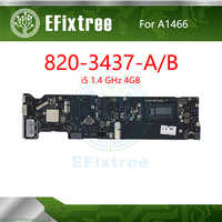 Tested 820-3437-A 820-3437-B Tested A1466 Motherboard For MacBook Air 13
