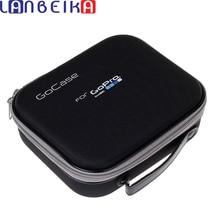 LANBEIKA ספורט פעולה מצלמה תיק עבור Gopro גיבור 9 8 7 6 5 SJCAM SJ4000 SJ5000 SJ8 SJ9 יי 4k DJI אוסמו פעולה מקרה נסיעות אחסון