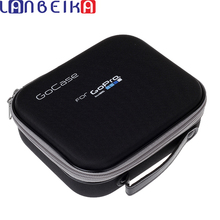 LANBEIKAกล้องกีฬาสำหรับGopro Hero 9 8 7 6 5 SJCAM SJ4000 SJ5000 SJ8 SJ9 YI 4K DJI OSMO Action Case Travel