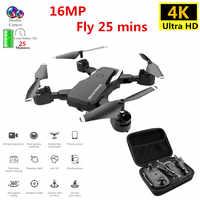Dron profesional 4K con cámara HD WIFI 1080P Cámara Sígueme Quadcopter FPV profesional Drone batería larga vida juguete para niños
