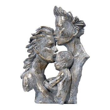 Sculpture Head Modern Abstract Art Resin Statue Decoration  4